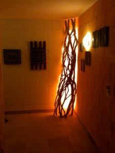 Beleuchtungsobjekt Efeu